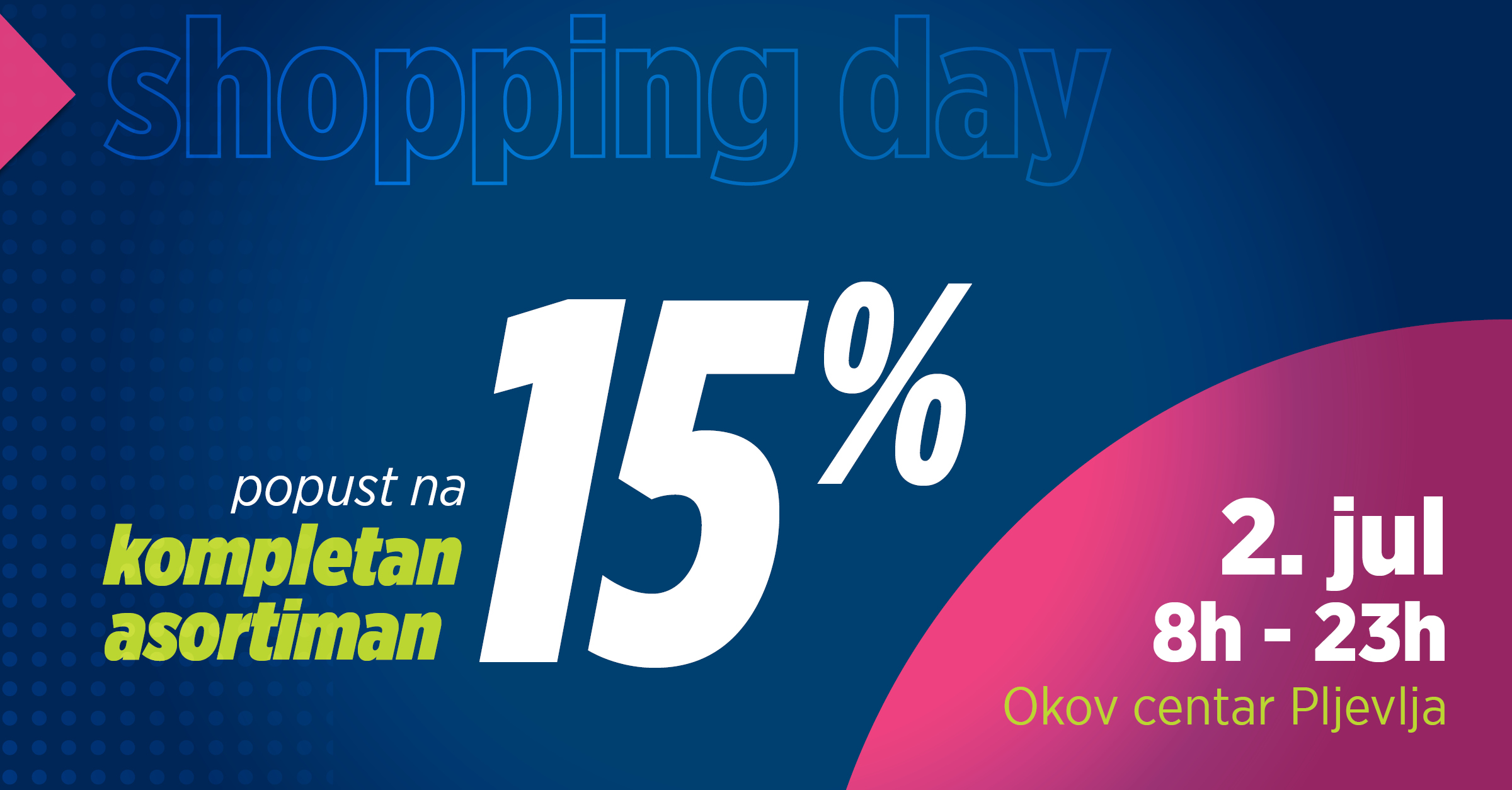 Pljevlja - Shopping Day 2020