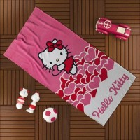 Peškir za plažu 75x150cm Hello Kitty