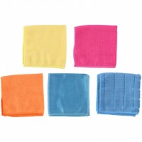 Set mikrofiber krpa 30x30cm sort 5/1 Lifetime Clean