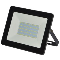Led slim reflektor 50W IP65 6500K crni