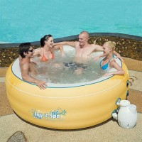Bazen LAY-Z-SPA - MASSAGE TUB 206x71cm žuti